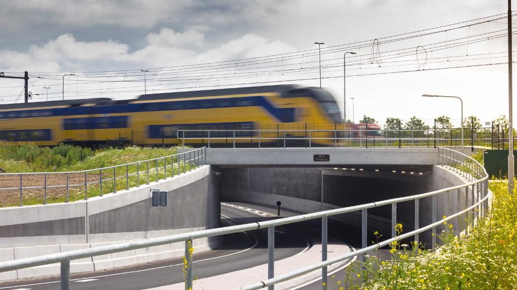 Tunnel Bunnik betonwerken - Gebr. de Koning
