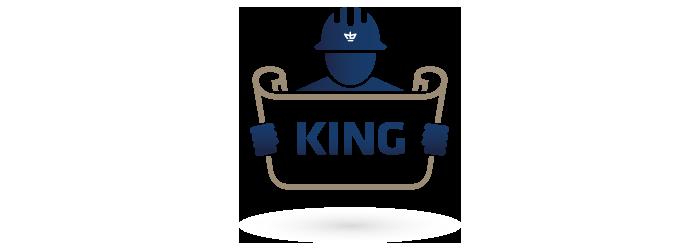King Logo Gebr. de Koning